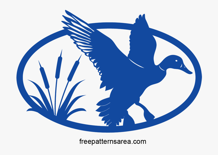 Vector Free Scroll Saw - Duck Hunting Png Vector, Transparent Clipart