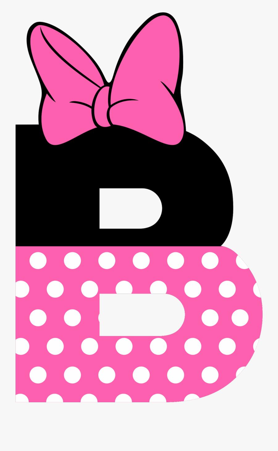 Baby Messages, Mouse Parties, Minnie Mouse Party, Alphabet, - Minnie Mouse Letter, Transparent Clipart