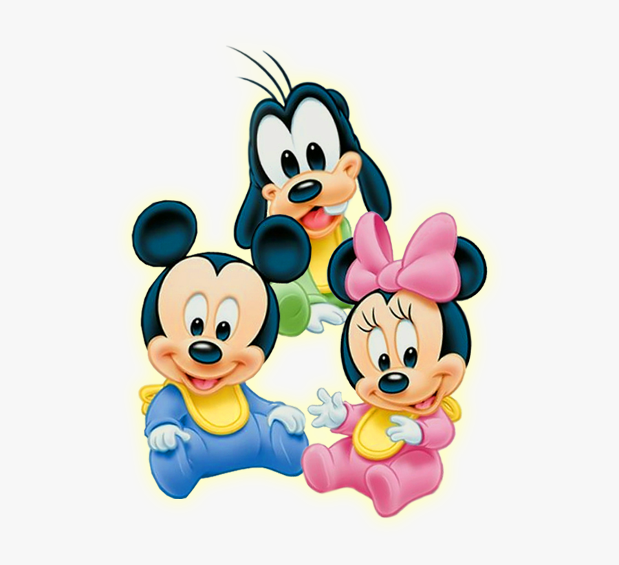 Baby - Minnie - Mouse - Png - Baby Mickey Mouse And Friends, Transparent Clipart