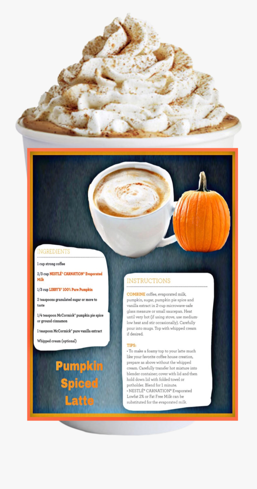 Starbucks Cup Pumpkin Spice Latte , Png Download - Pumpkin Spice Latte Starbucks, Transparent Clipart