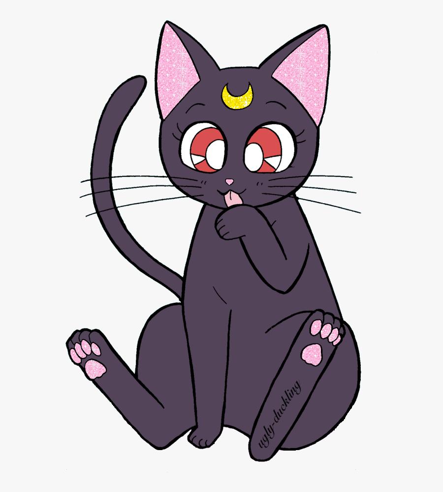 Pin By Mrs - Luna Sailor Moon Png, Transparent Clipart