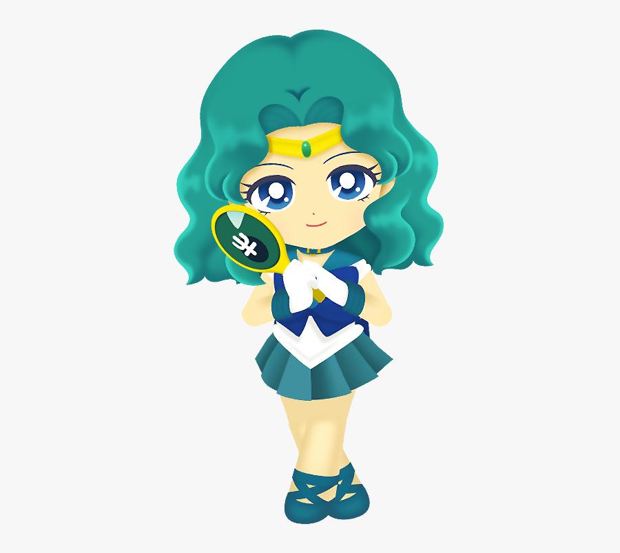 Sailor Neptune Transparent - Sailor Uranus Sailor Moon Drops, Transparent Clipart