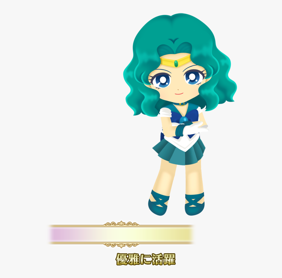 Image Jv Png Sailor - Sailor Moon Drops Sailor Neptune, Transparent Clipart