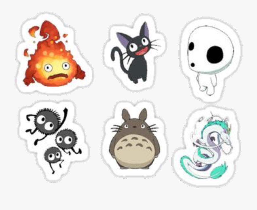Transparent Ponyo Png Spirited Away Studio Ghibli Stickers Free Transparent Clipart Clipartkey