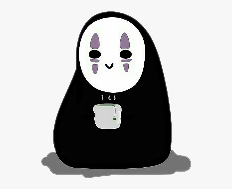 Noface Spiritedaway Anime Chibi Kaonashi Ghibli No Face Studio Ghibli Stickers Free Transparent Clipart Clipartkey
