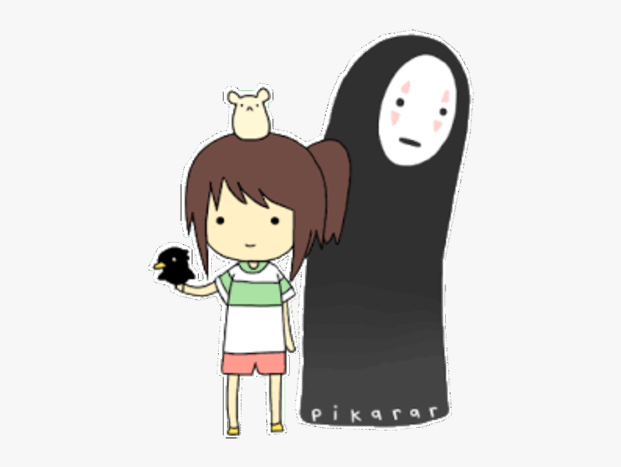 Anime Manga Aesthetic Ghibli Studio Studioghibli Cute No Face Spirited Away Free Transparent Clipart Clipartkey