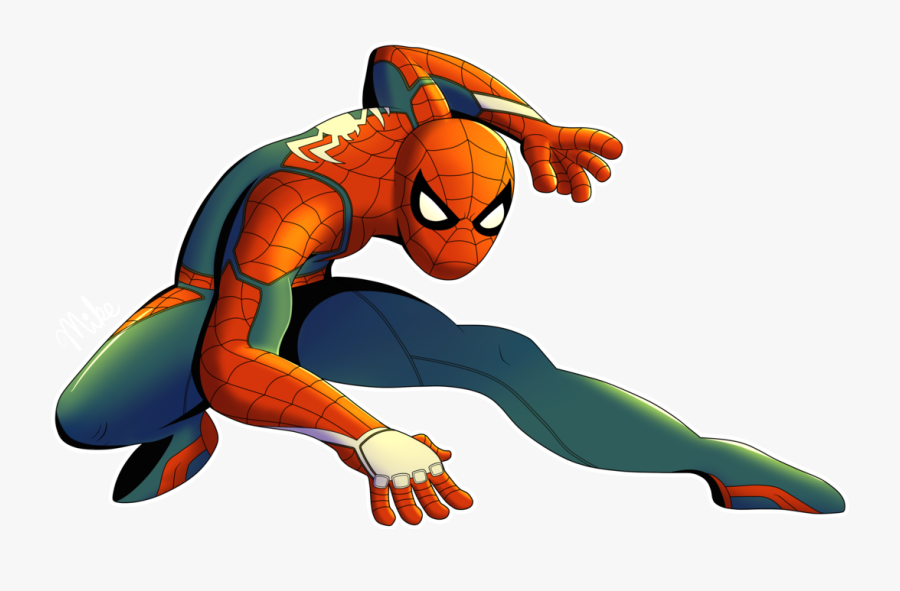 Ps4 Spider-man By Lucarioocarina - Draw The Amazing Spider Man, Transparent Clipart
