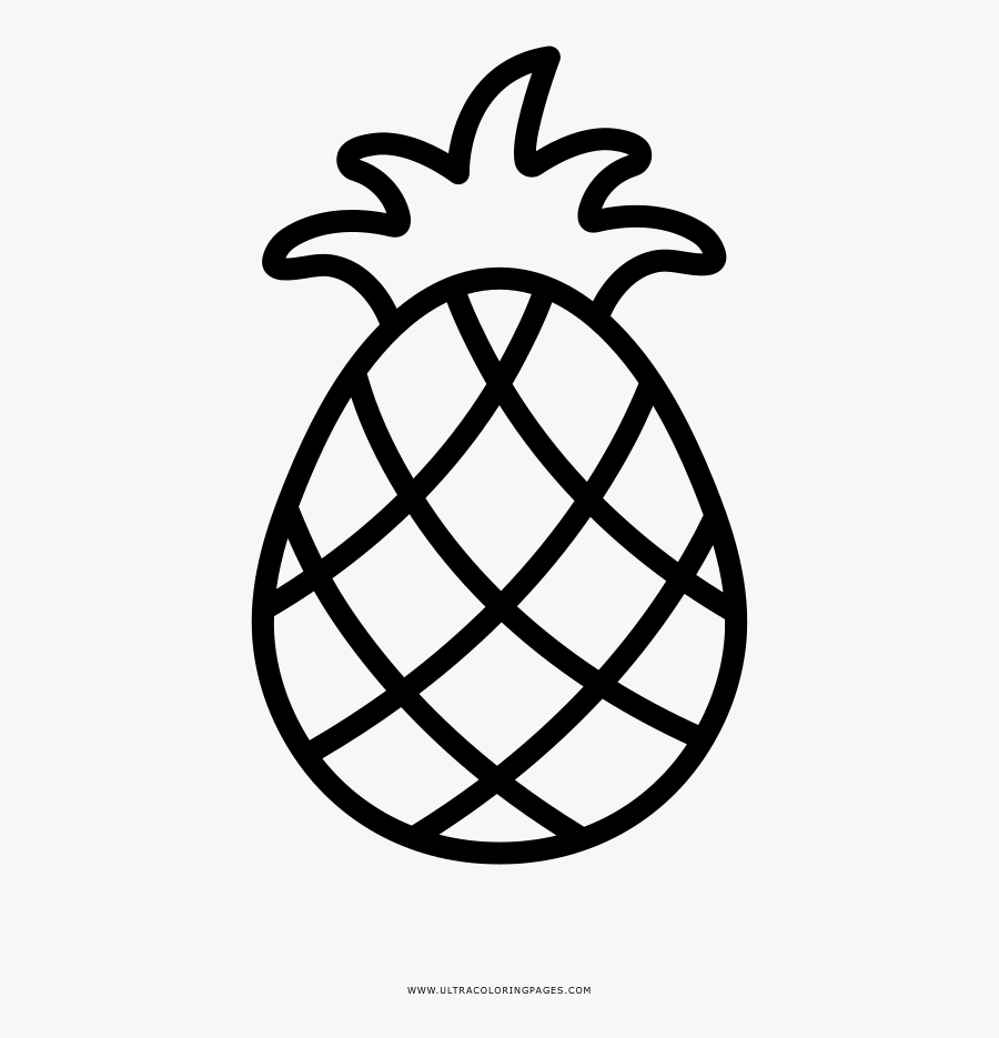 Pineapple Coloring Page - Mit Lincoln Labs Logo, Transparent Clipart