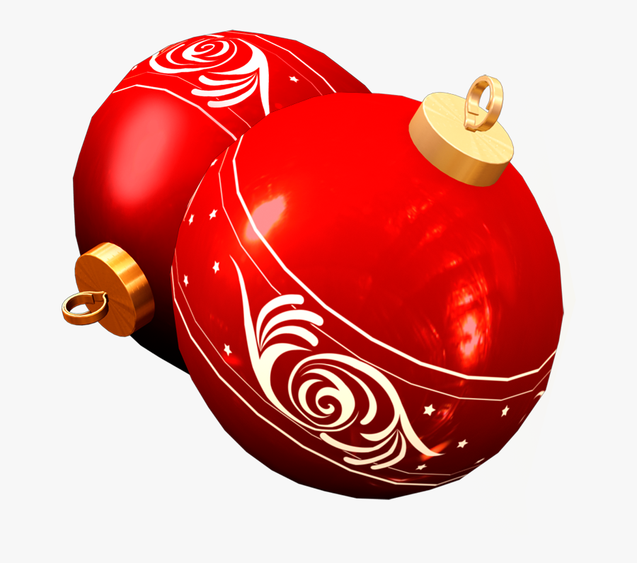 Transparent Red Christmas Ball Png - Christmas Day, Transparent Clipart