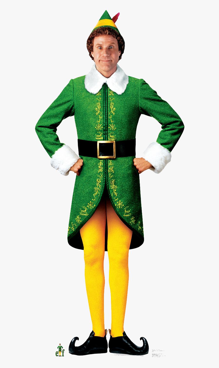 Transparent Elf Movie Png - Elf Movie, Transparent Clipart