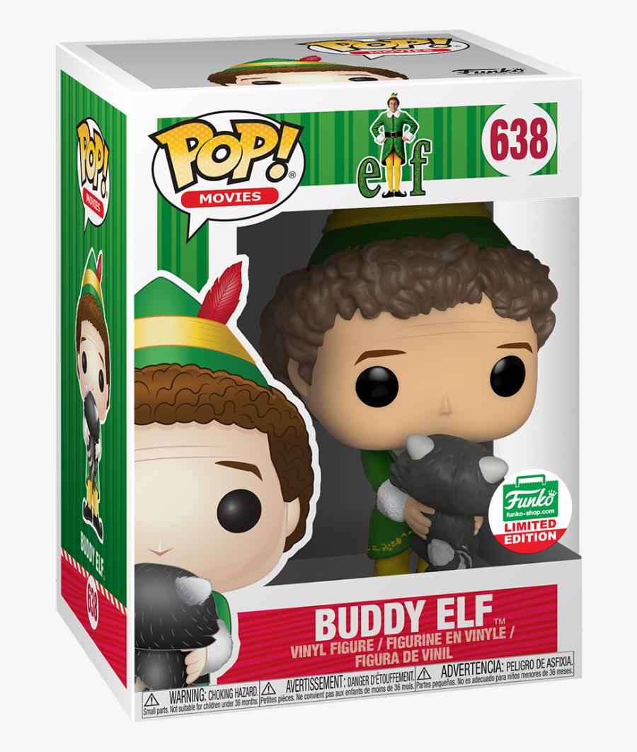 Buddy The Elf Funko Pop, Transparent Clipart