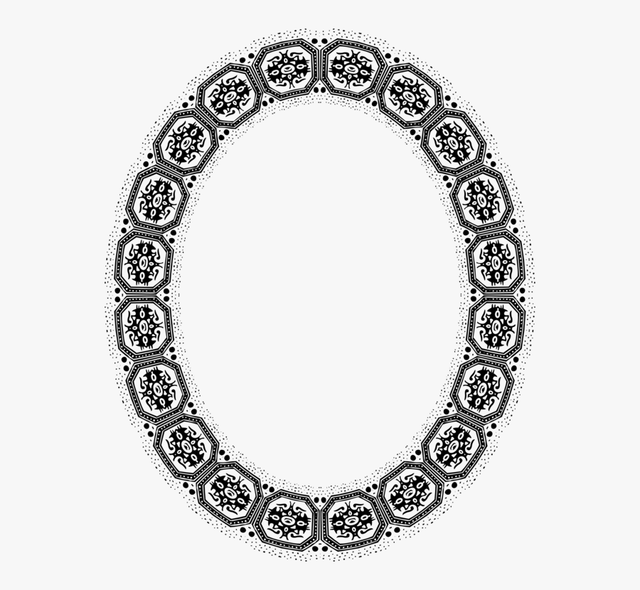 Picture Frame,body Jewelry,tableware - Frame Ellipse, Transparent Clipart