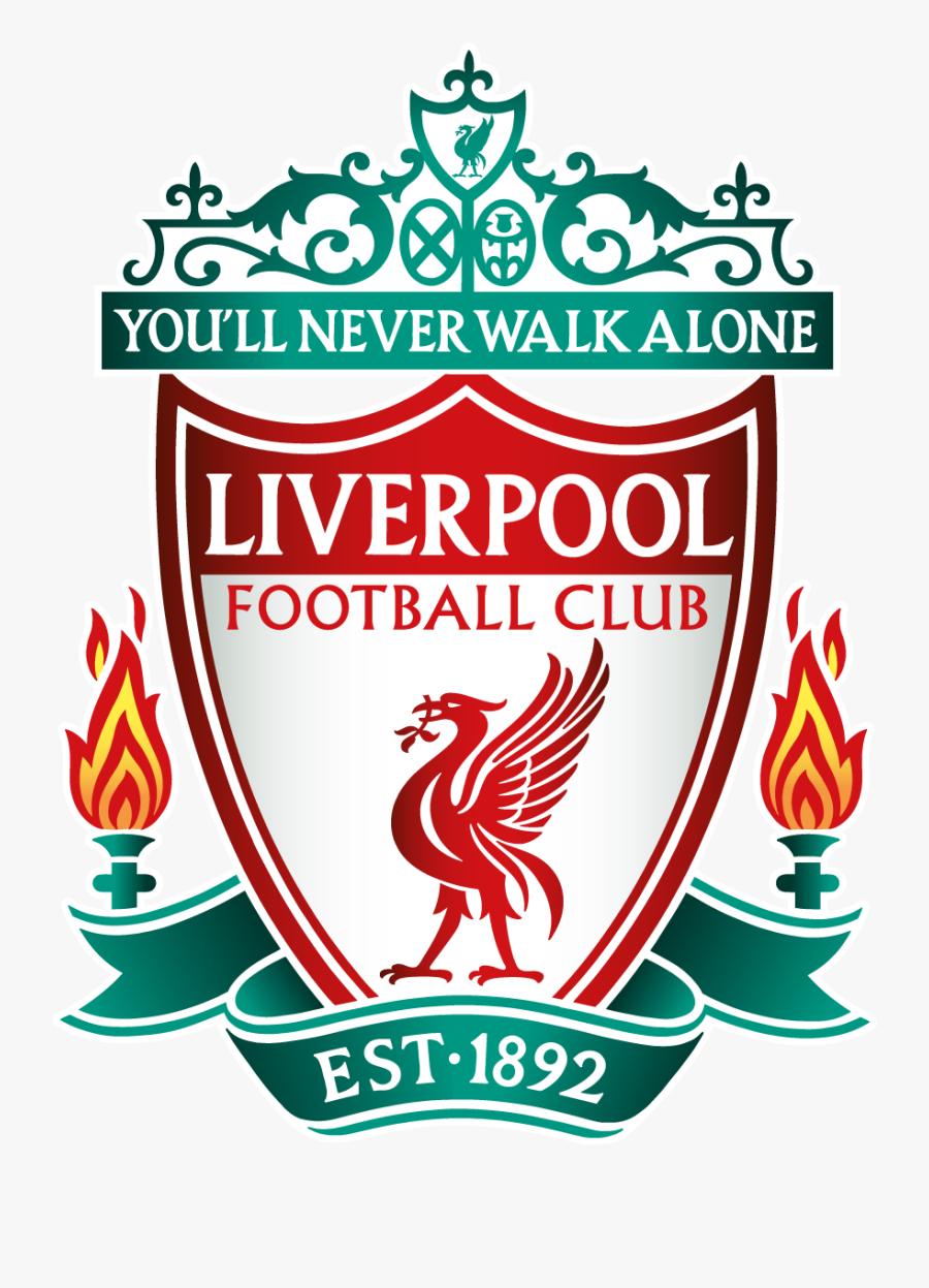 Liverpool Fc Football Club Logo Vector - Liverpool Fc Badge 2018, Transparent Clipart