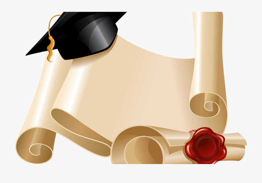 Diploma And Graduation Hat Png Clipart Picture Gallery - Graduation Tribal Background, Transparent Clipart