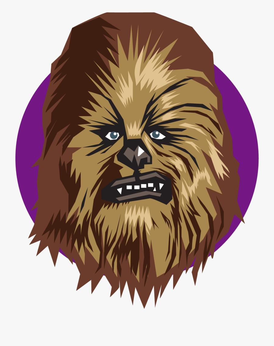 Chewbacca Clipart Wookie - Chewbacca Emoji, Transparent Clipart