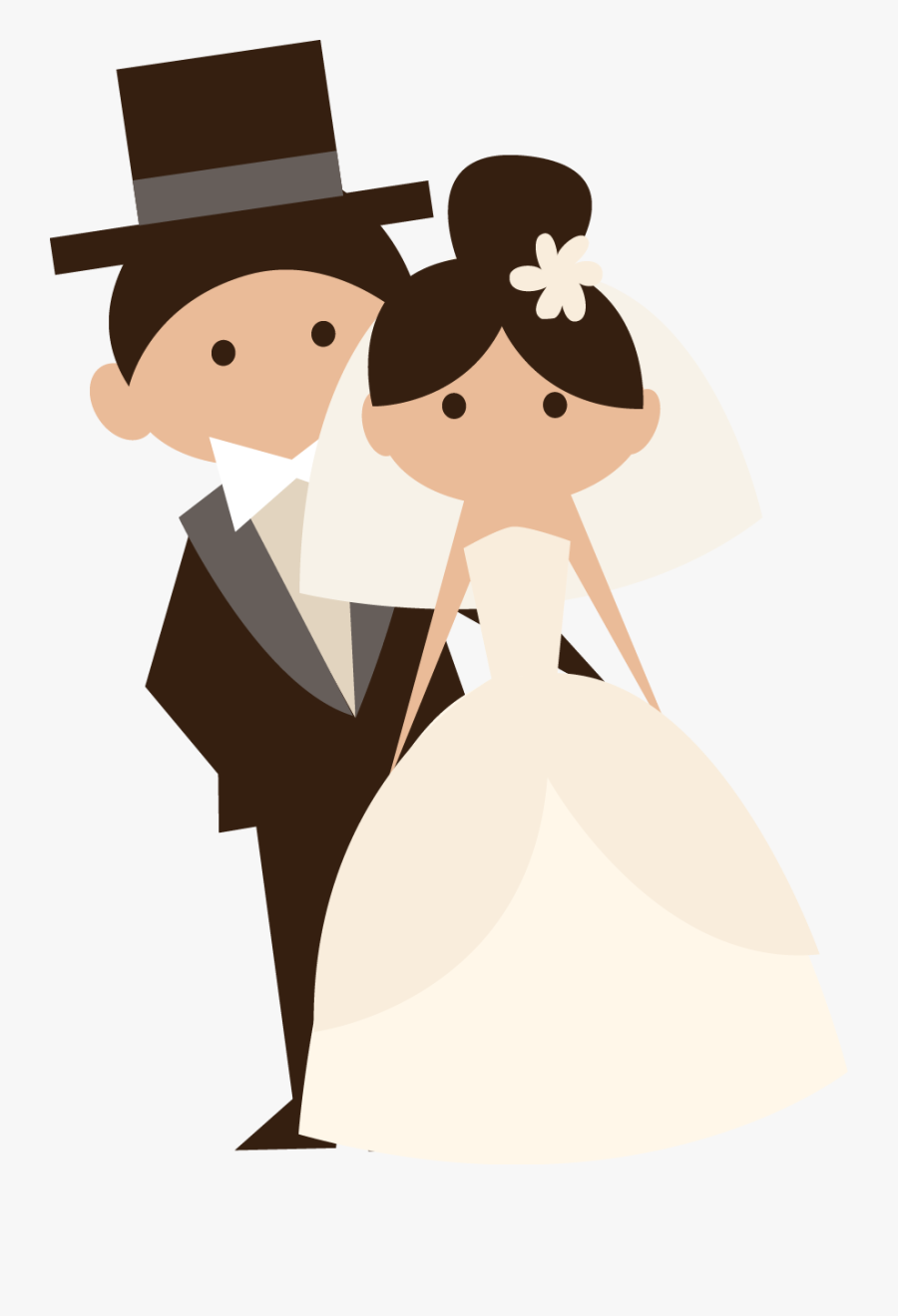 Clip Art Africana Events Leave A - Just Married Bride And Groom, Transparent Clipart