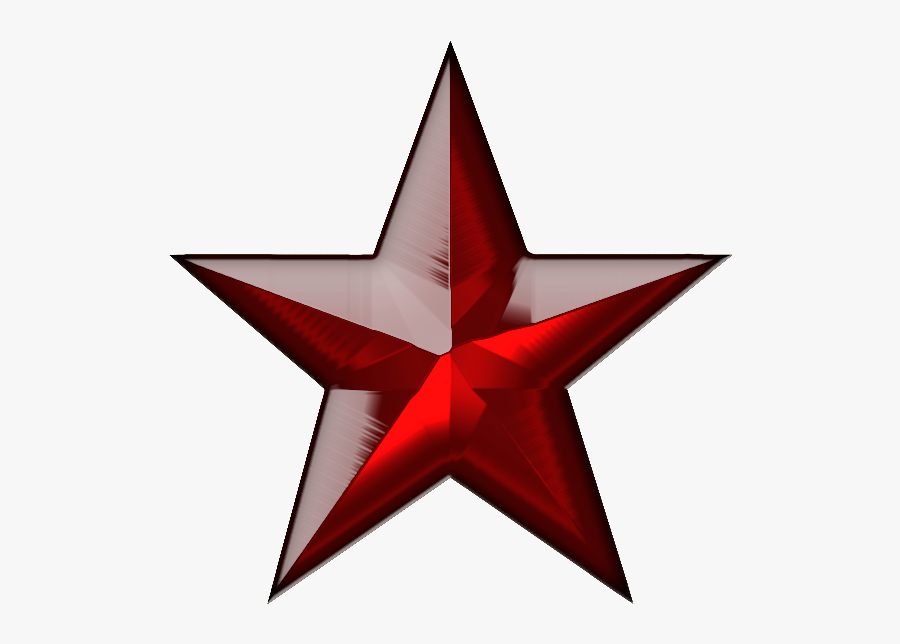 Red Star Png - Green Star Transparent Png, Transparent Clipart
