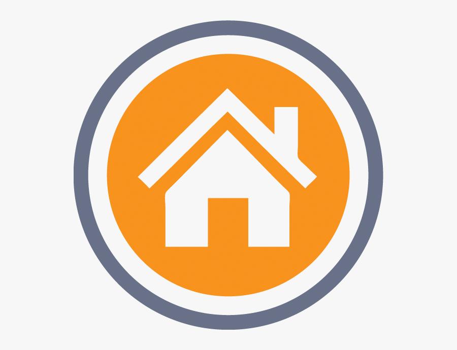 House Sign, Transparent Clipart