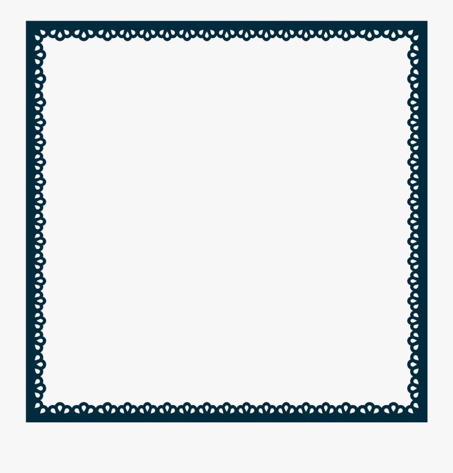 Scallop Frame Extrapolated - Web Design Frames, Transparent Clipart