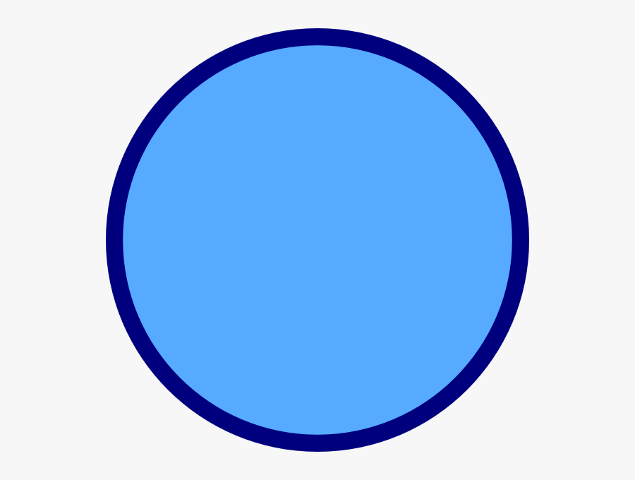 Round Blue Circle Png, Transparent Clipart
