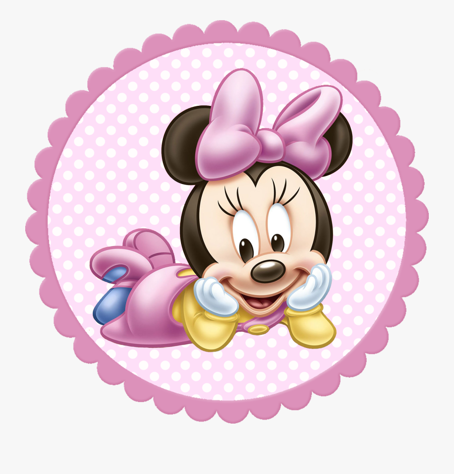 Minnie Mouse Bebe Png, Transparent Clipart
