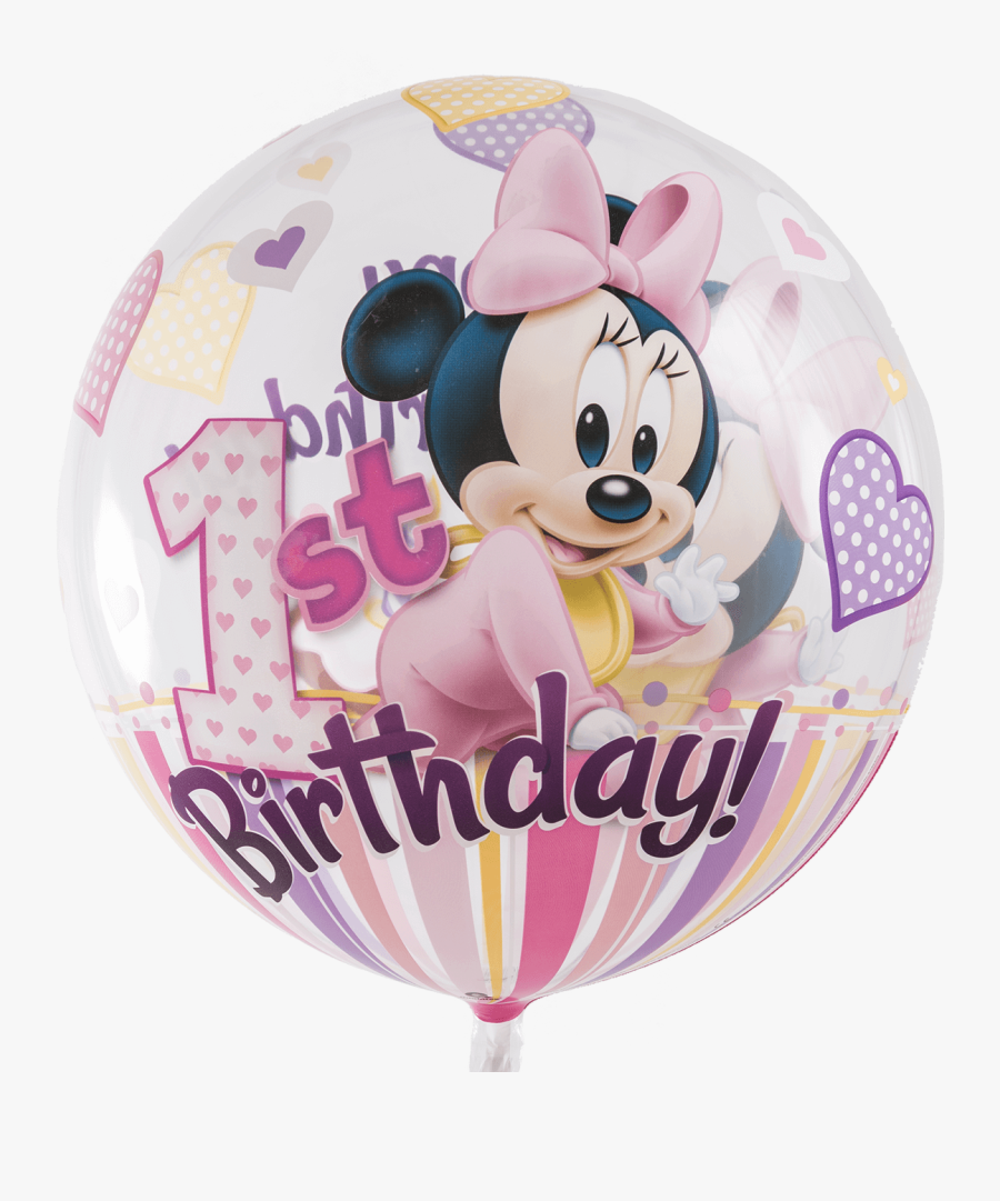 Transparent Mickey Mouse Birthday Png - Balloon, Transparent Clipart