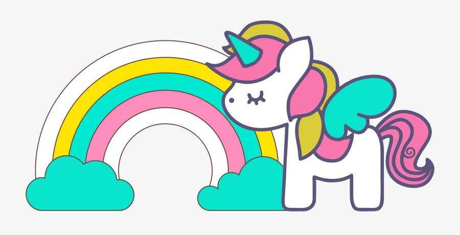 Unicorns Clip Art For Scrapbooking - Unicórnio Clipart, Transparent Clipart