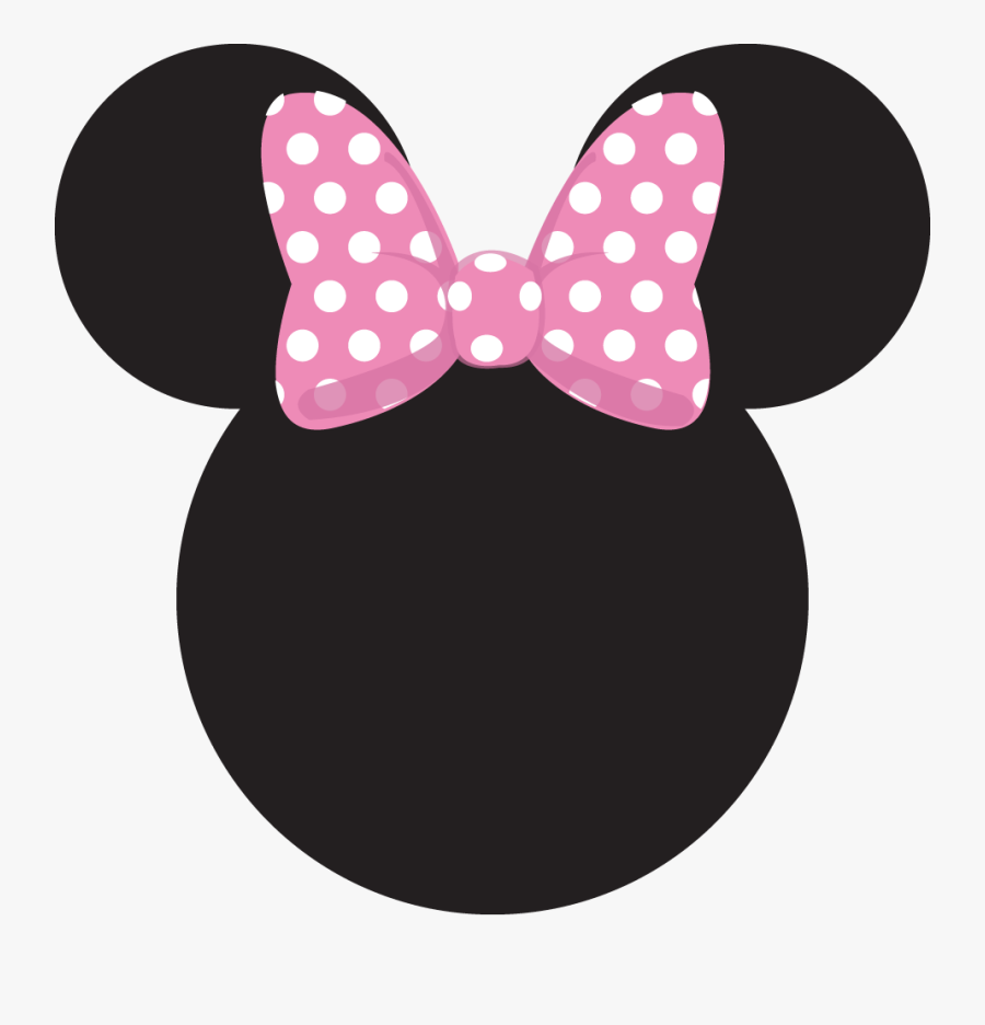 Cabeza Minnie Mouse Png, Transparent Clipart