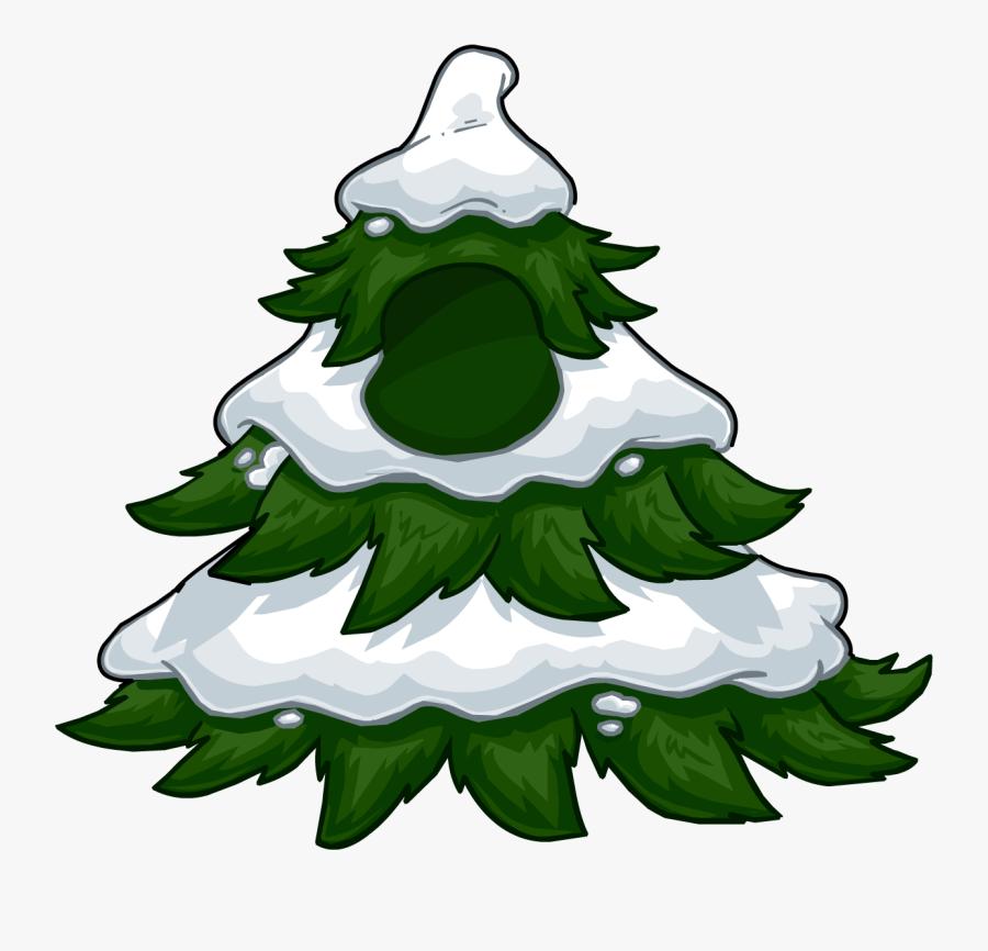 Club Penguin Wiki - Club Penguin Tree Costume, Transparent Clipart