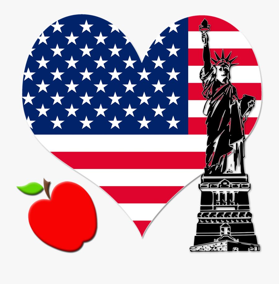 Happy Independence Day Usa Map Clipart , Png Download - Happy Us Independence Day, Transparent Clipart
