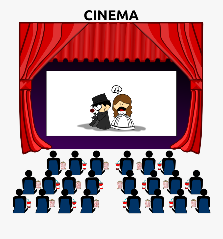 Free Movie Cliparts Download - Movie Theater Clipart, Transparent Clipart