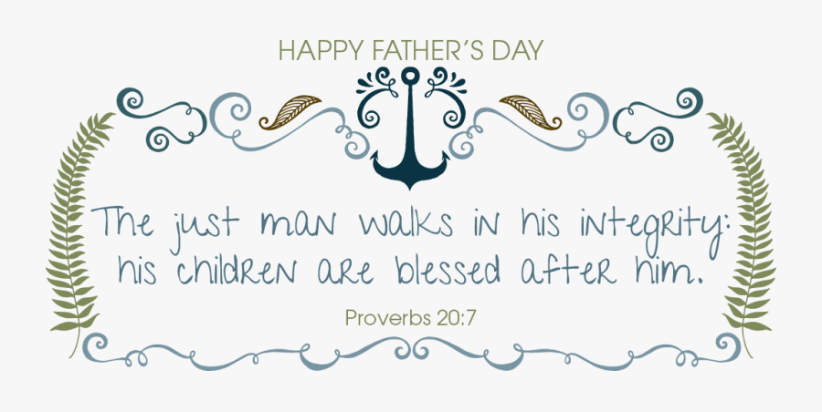 """Transparent Father""""s Day Clip Art - Religious Happy Fathers Day, Transparent Clipart"""