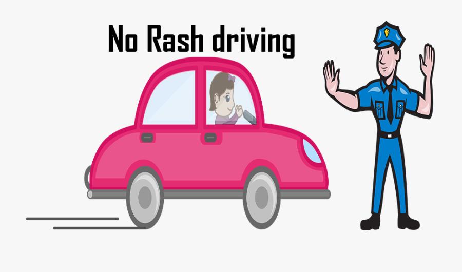 Rash Driving Clipart, Transparent Clipart