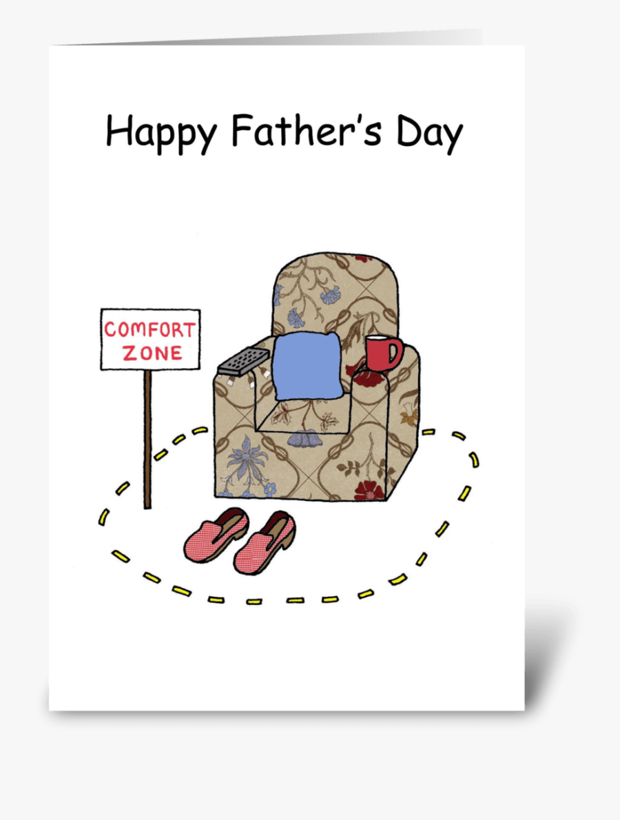 """Funny Father""""s Day Greeting Card - Happy Fathers Day Cartoon Funny, Transparent Clipart"""
