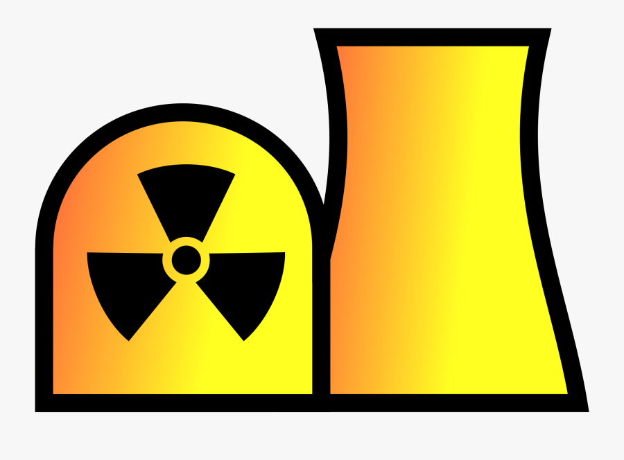 Thumb Image - Nuclear Power Station Symbol, Transparent Clipart