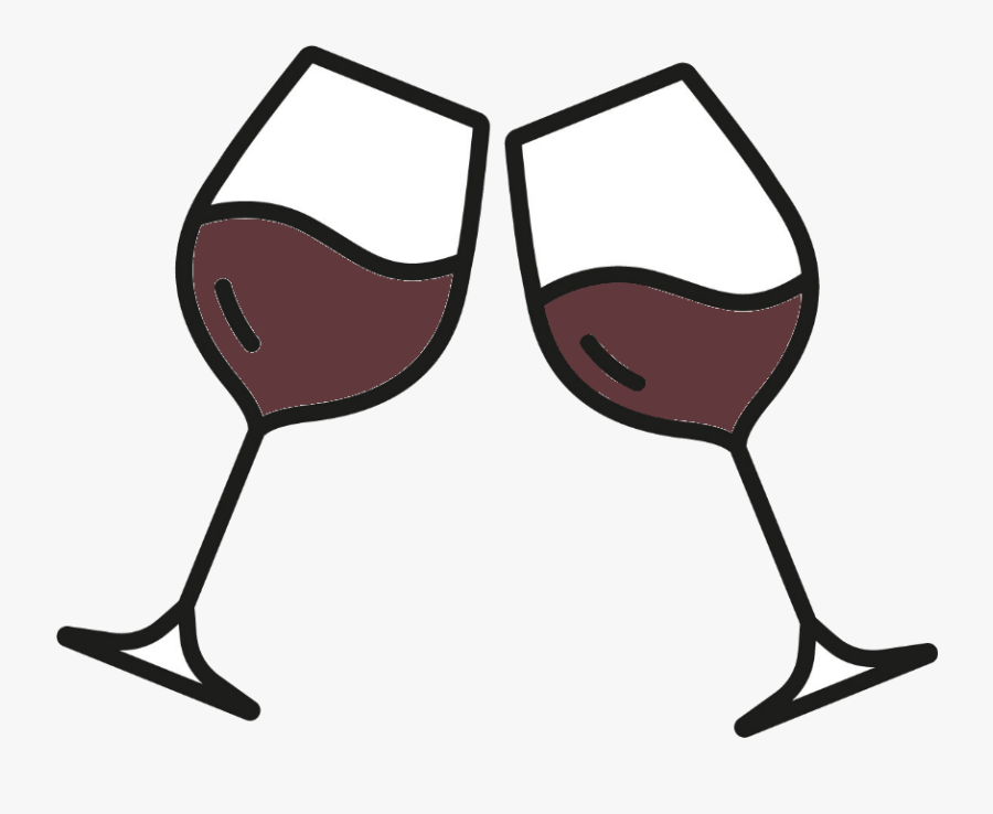 Transparent Red Wine Glass Png - Clip Art Wine Glasses Transparent Background, Transparent Clipart