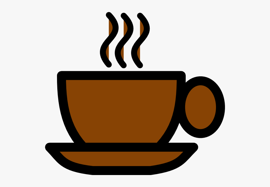 Cup Clipart Brown Coffee - Brown Coffee Cup Clip Art, Transparent Clipart