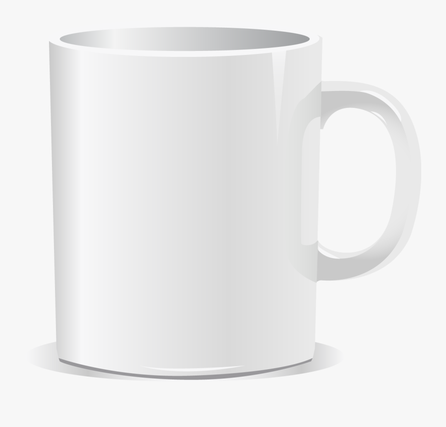 Cup,clip Art,material - Vector White Coffee Mug Png, Transparent Clipart