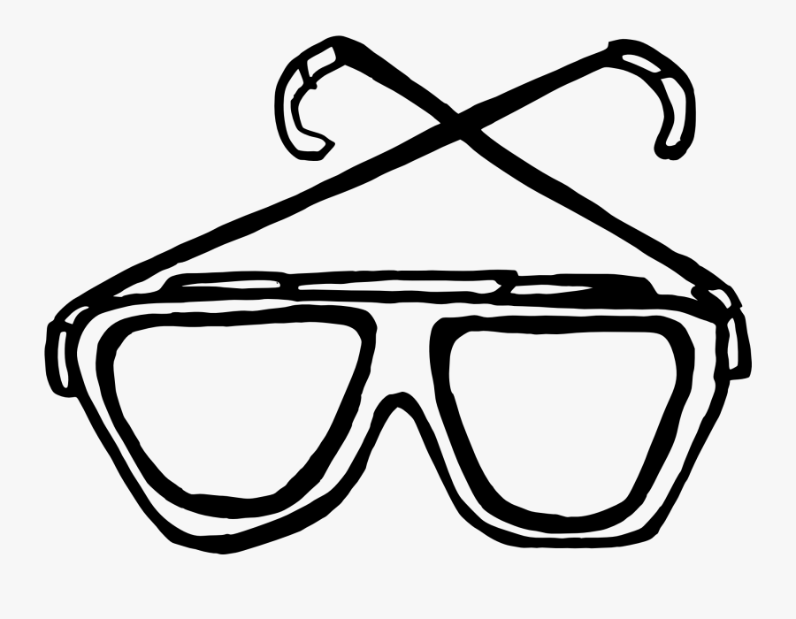 Sunglasses Clip Art , Png Download - Shades Black And White, Transparent Clipart