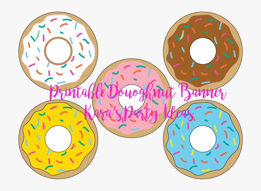 """Dad""""s And Doughnuts Father""""s Day Banner Free Printable - Vipkid Free Printable Reward System, Transparent Clipart"""