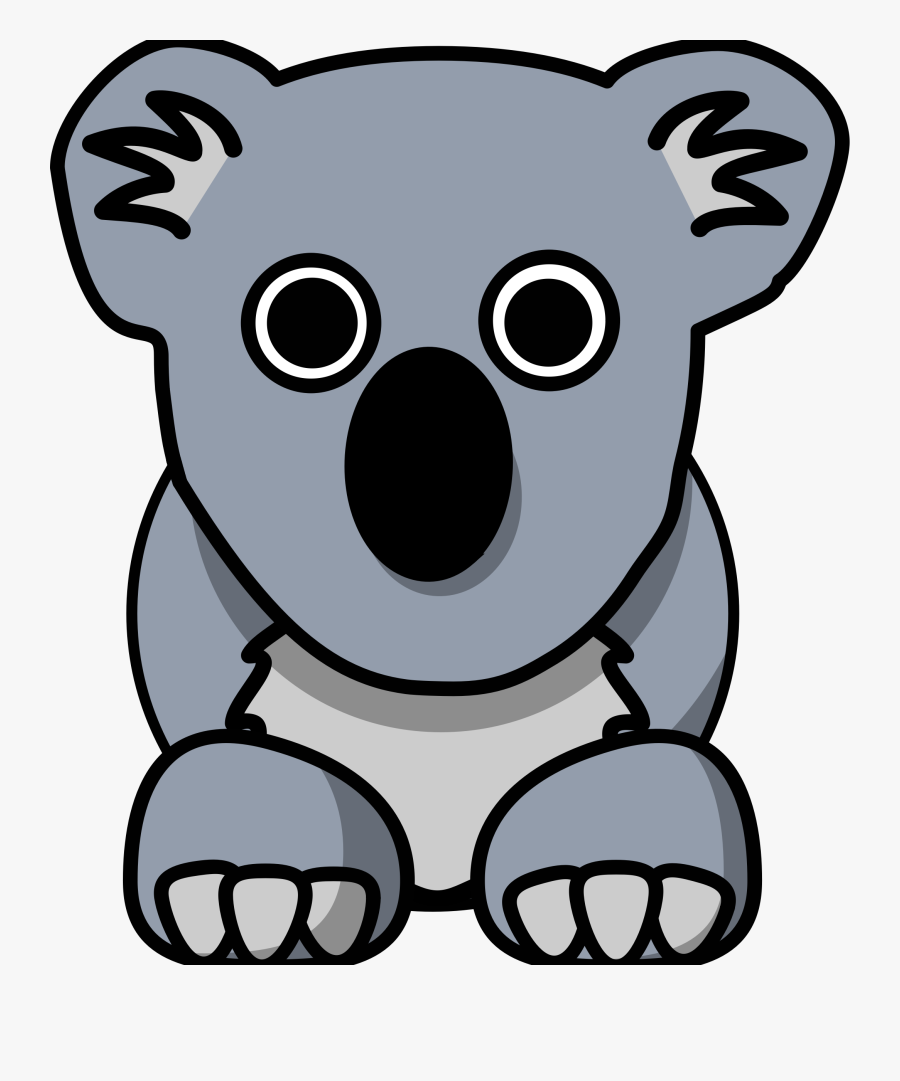 Cartoon Koala - Clipart Cartoon Koala, Transparent Clipart