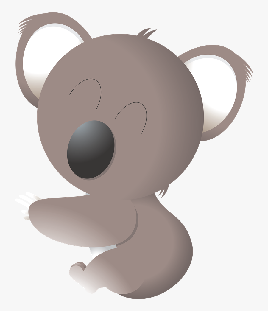 Free To Use &amp, Public Domain Koala Clip Art - Koala Cliparte Png, Transparent Clipart