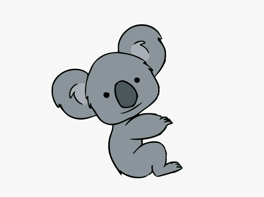 Koala Clipart Athlete - Koala Clipart, Transparent Clipart