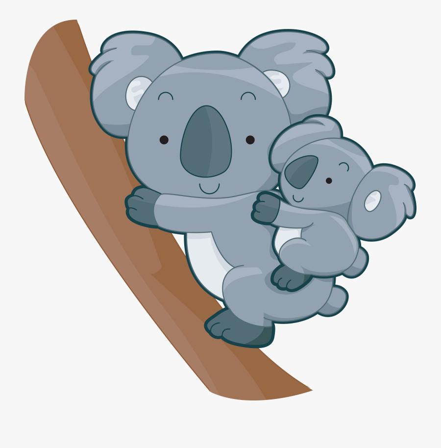 Baby Koalas Clipart, Transparent Clipart