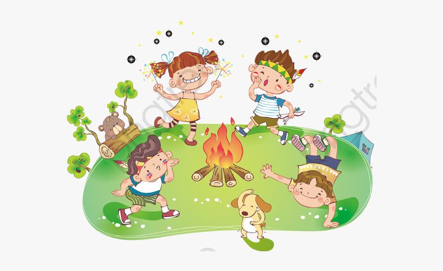 Summer Camp - Kid Camp Png, Transparent Clipart