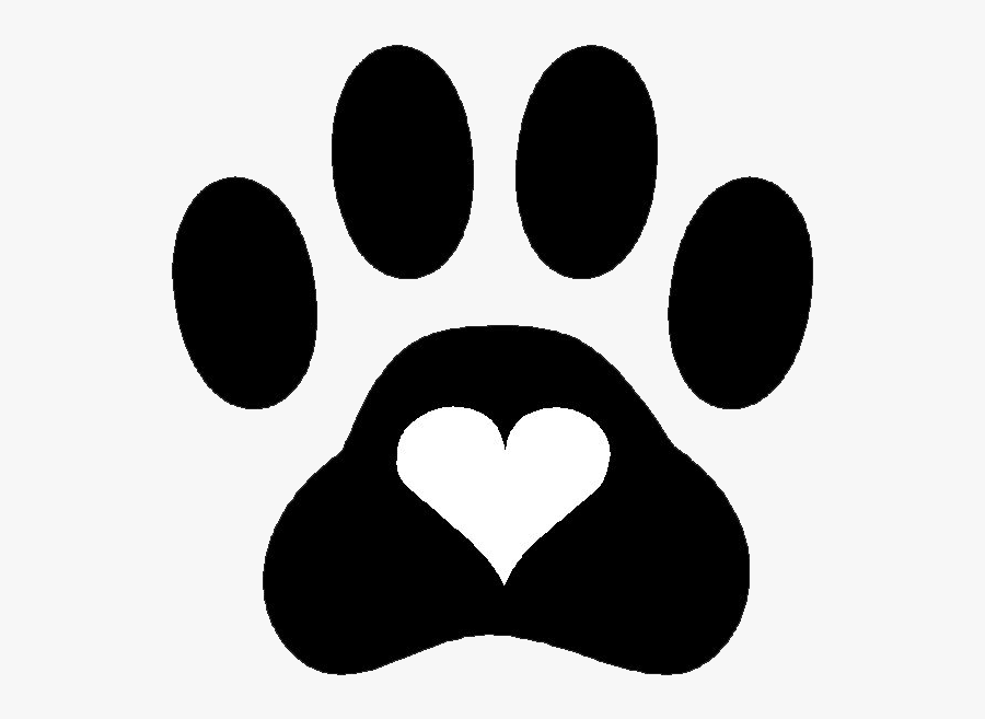 Paw Print and Heart Clip Art (Page 1) - Line.17QQ.com