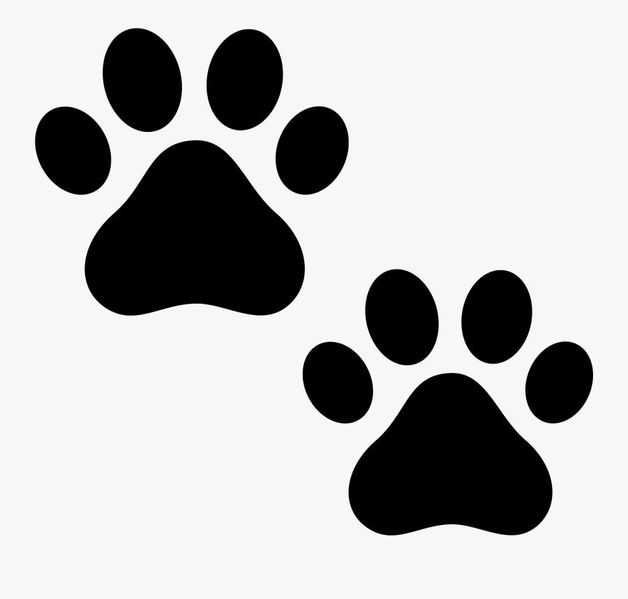 Transparent Paw Print Png Transparent - Dog Paw Gif Transparent, Transparent Clipart