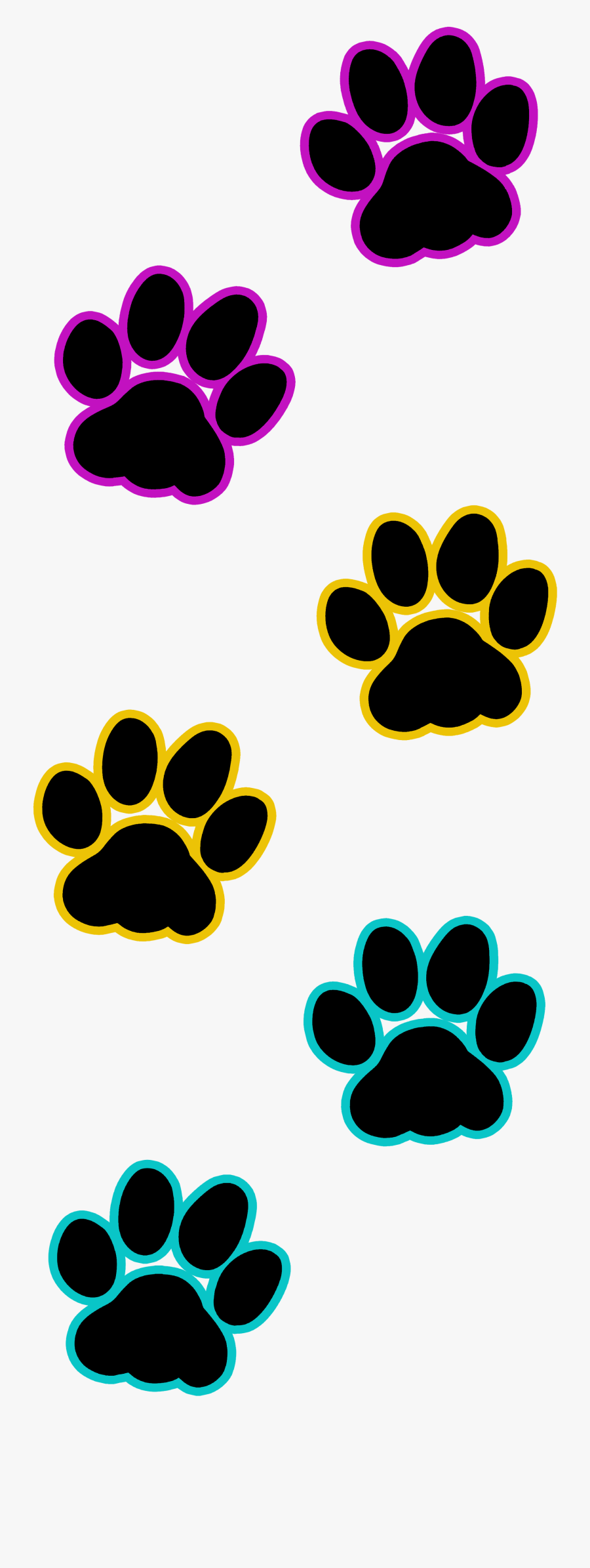 Ideas Cat Paw Print Transparent Kitty Paw Print - Transparent Cat Paw Print Clip Art, Transparent Clipart