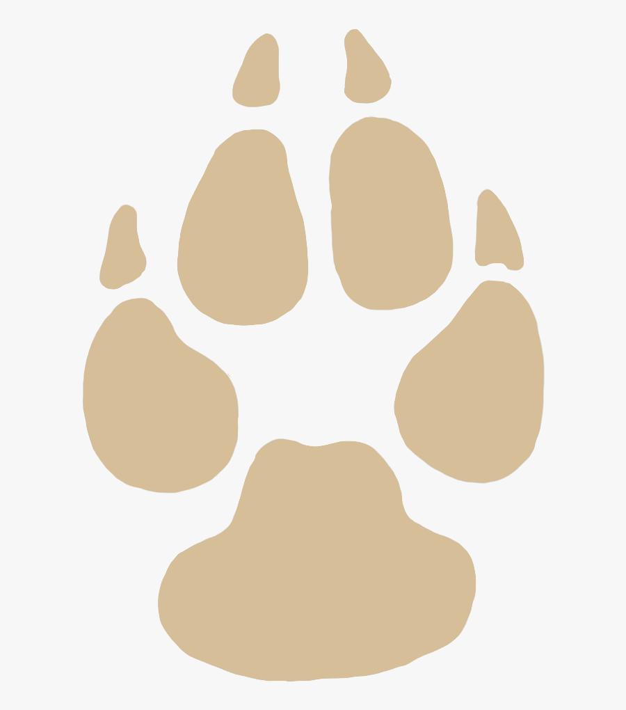 Transparent Jam Clipart - Animal Foot Print Png, Transparent Clipart