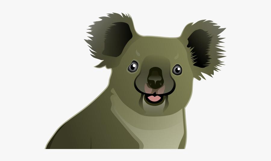 Koala Clipart Animal Native Australian - Koalas Cartoon Australia, Transparent Clipart